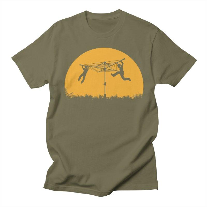 Merry Go Sunset Men's Regular T-Shirt by zomboy's Artist Shop