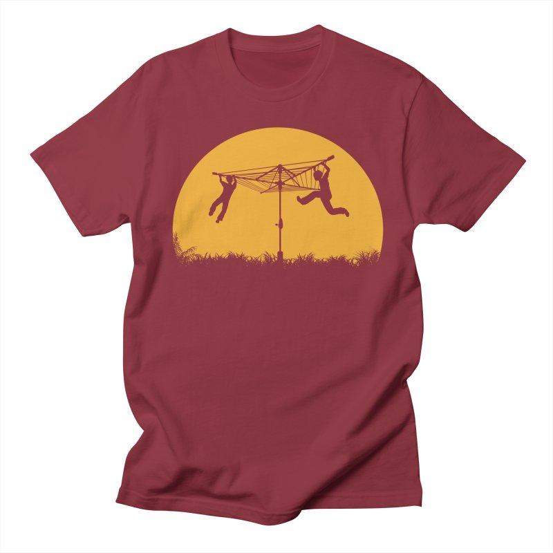 Merry Go Sunset Men's T-Shirt by zomboy's Artist Shop