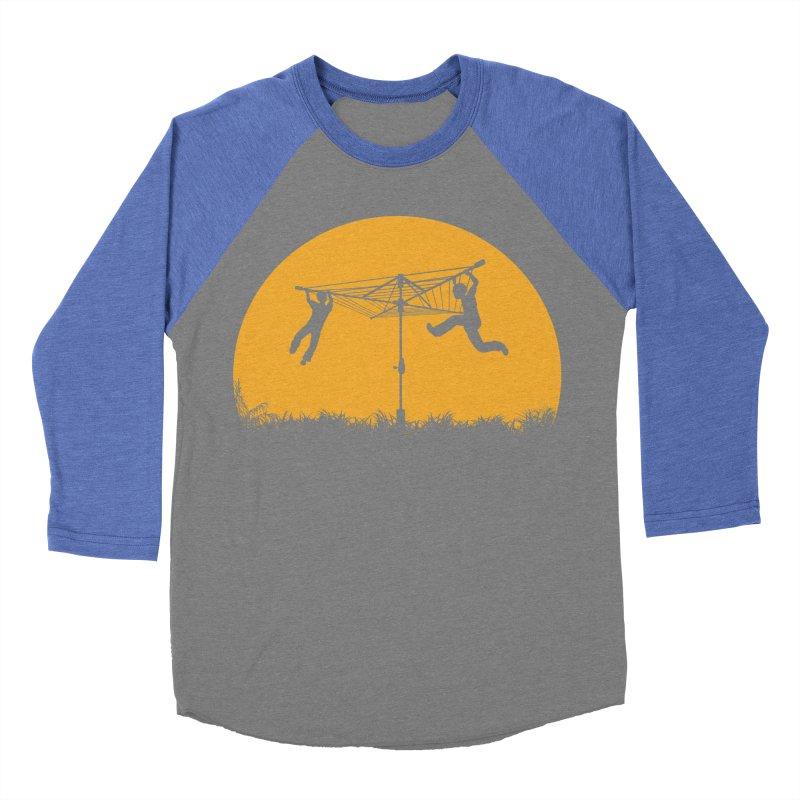 Merry Go Sunset Women's Baseball Triblend T-Shirt by zomboy's Artist Shop