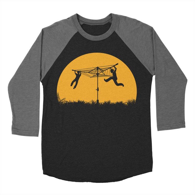 Merry Go Sunset Men's Baseball Triblend Longsleeve T-Shirt by zomboy's Artist Shop