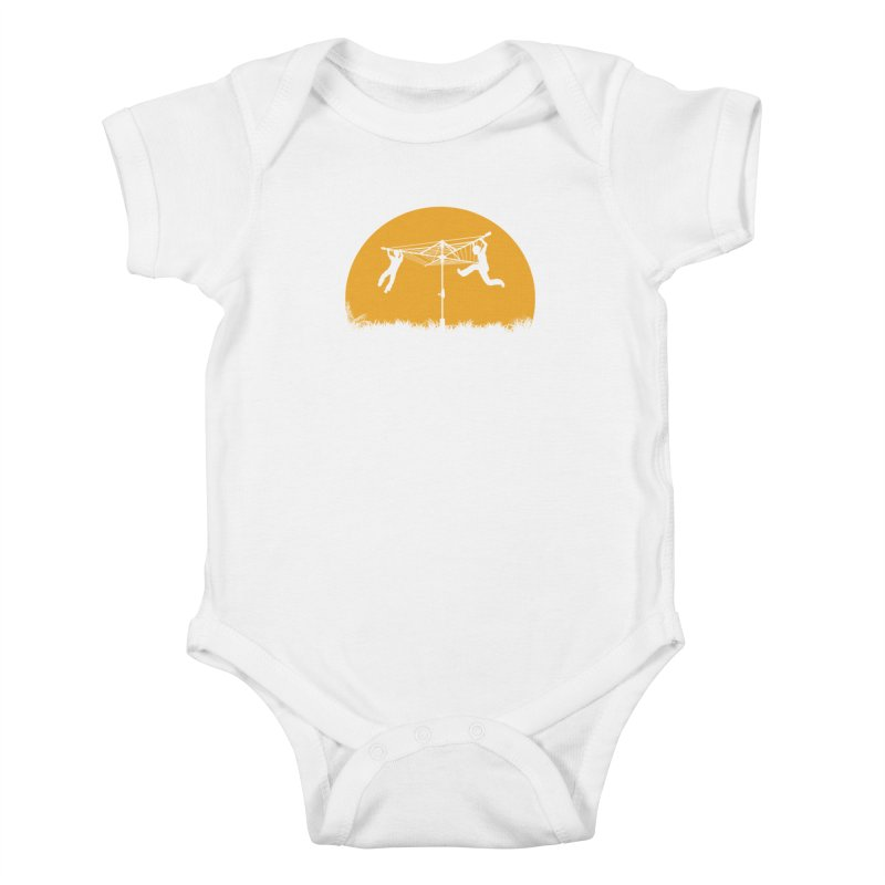 Merry Go Sunset Kids Baby Bodysuit by zomboy's Artist Shop