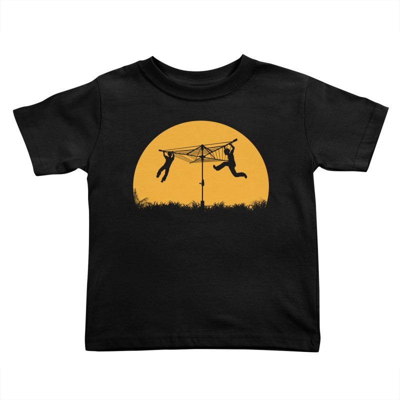 Merry Go Sunset Kids Toddler T-Shirt by zomboy's Artist Shop
