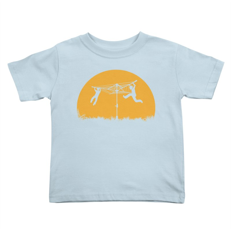 Merry Go Sunset Kids Toddler T-Shirt by zomboy's Artist Shop