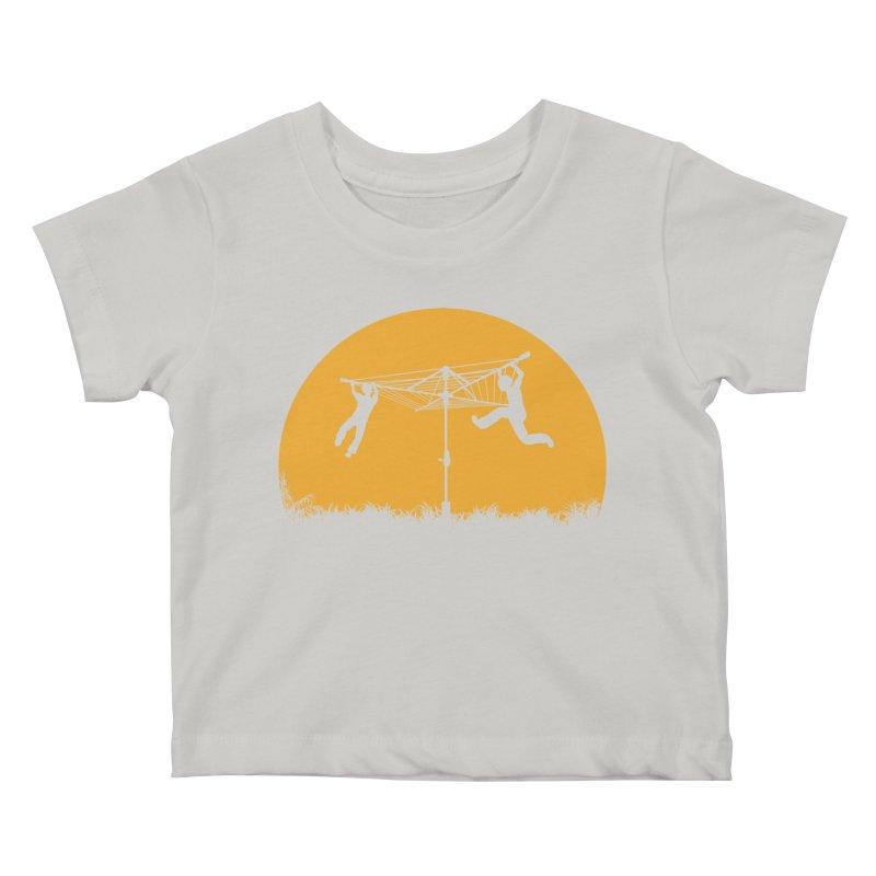 Merry Go Sunset Kids Baby T-Shirt by zomboy's Artist Shop