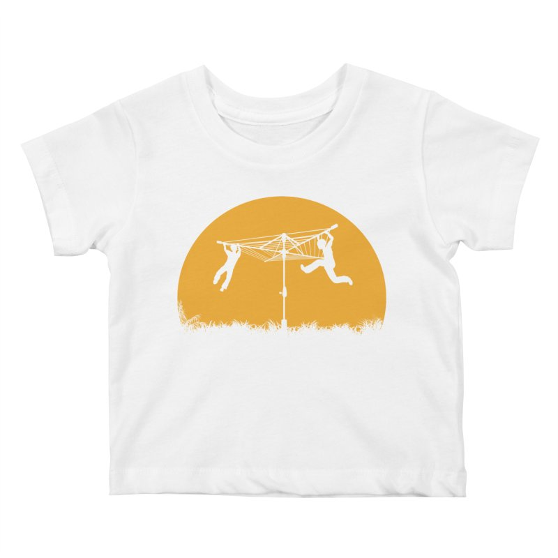 Merry Go Sunset Kids Baby T-Shirt by zomboy's Artist Shop