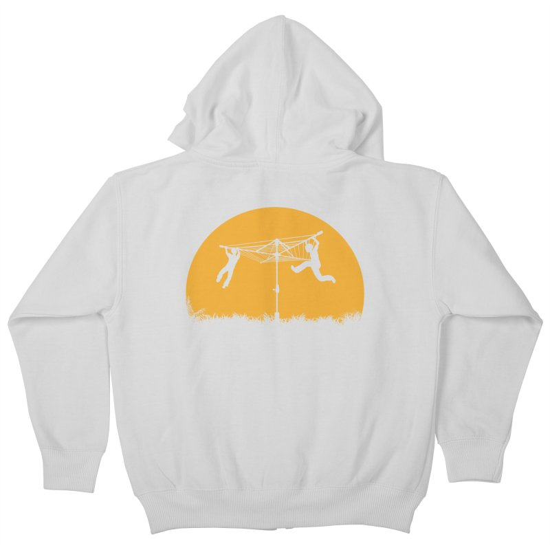 Merry Go Sunset Kids Zip-Up Hoody by zomboy's Artist Shop