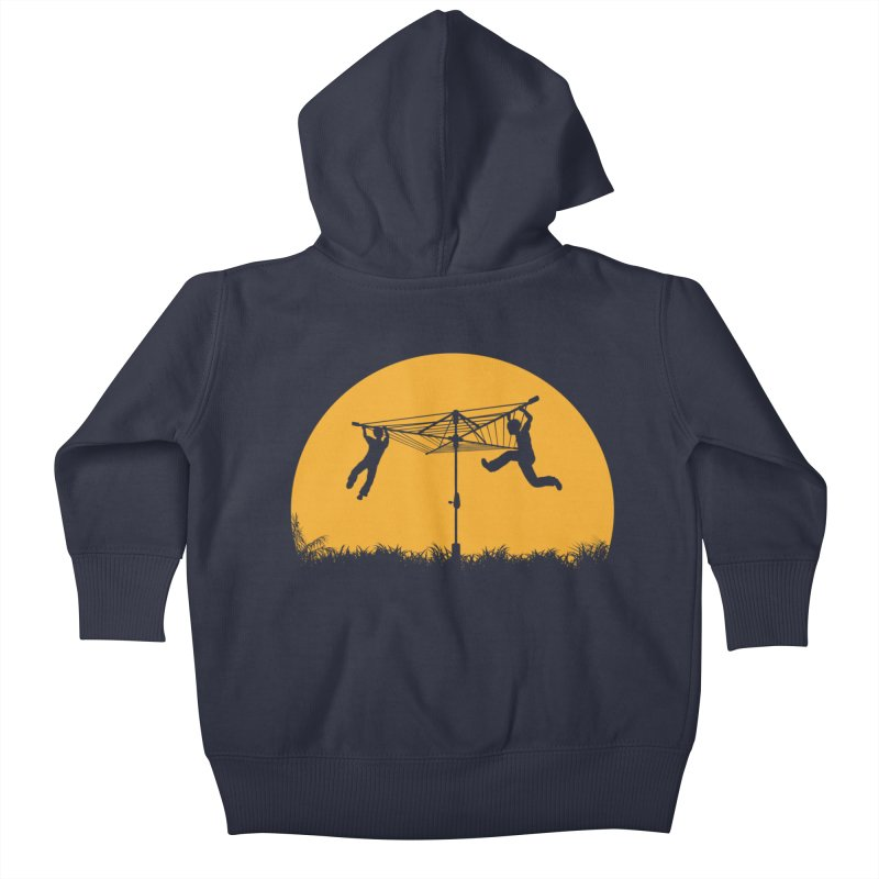 Merry Go Sunset Kids Baby Zip-Up Hoody by zomboy's Artist Shop