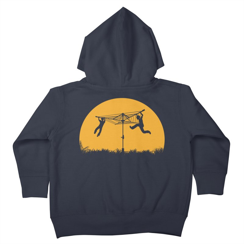 Merry Go Sunset Kids Toddler Zip-Up Hoody by zomboy's Artist Shop