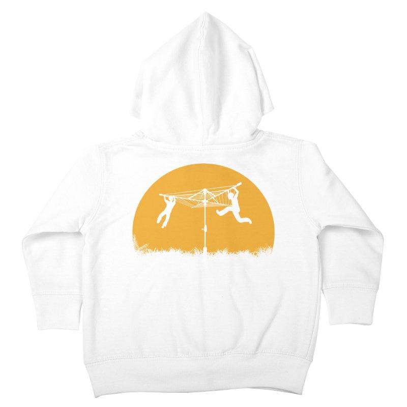 Merry Go Sunset Kids Toddler Zip-Up Hoody by zomboy's Artist Shop