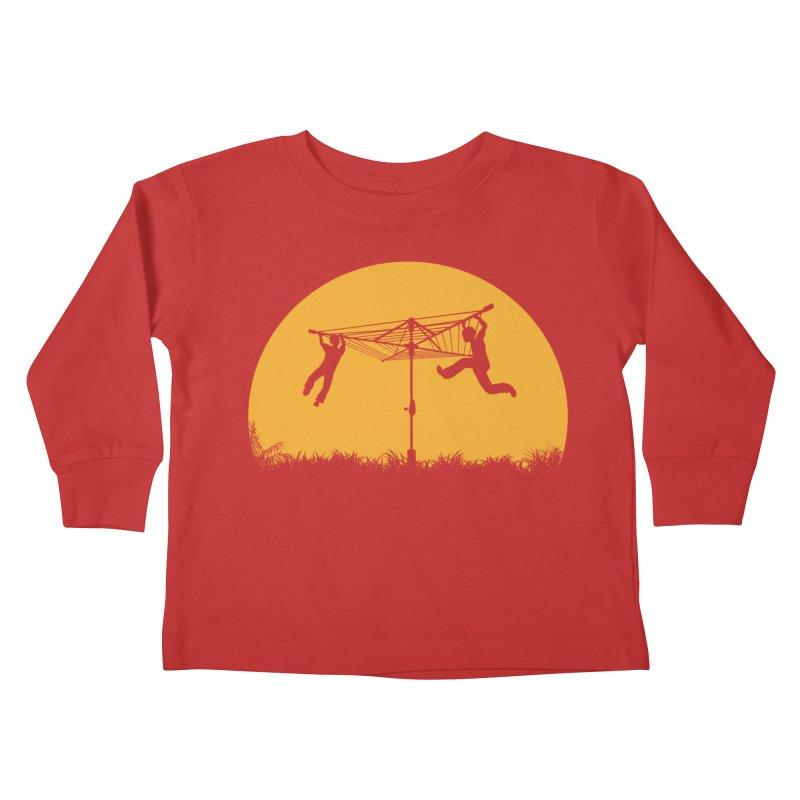 Merry Go Sunset Kids Toddler Longsleeve T-Shirt by zomboy's Artist Shop