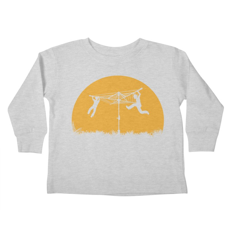 Merry Go Sunset Kids Toddler Longsleeve T-Shirt by zomboy's Artist Shop