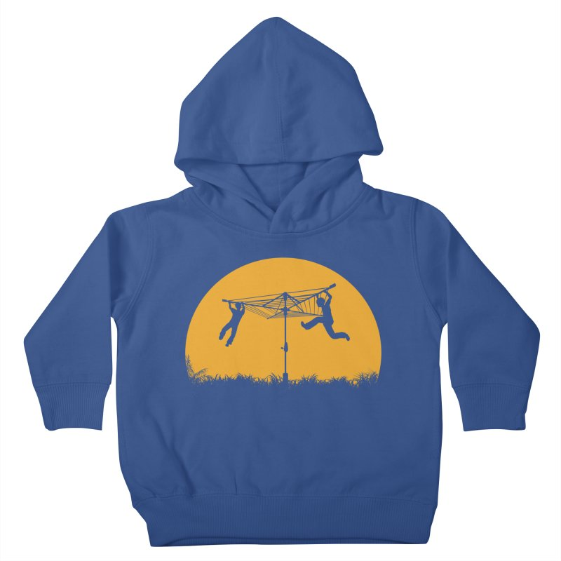 Merry Go Sunset Kids Toddler Pullover Hoody by zomboy's Artist Shop