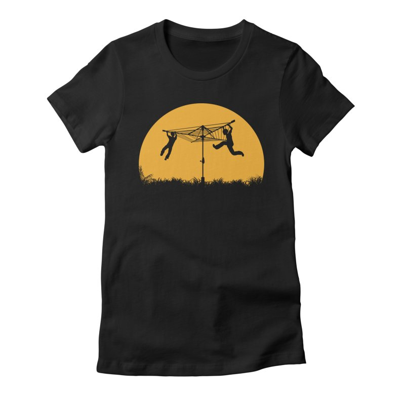 Merry Go Sunset Women's Fitted T-Shirt by zomboy's Artist Shop