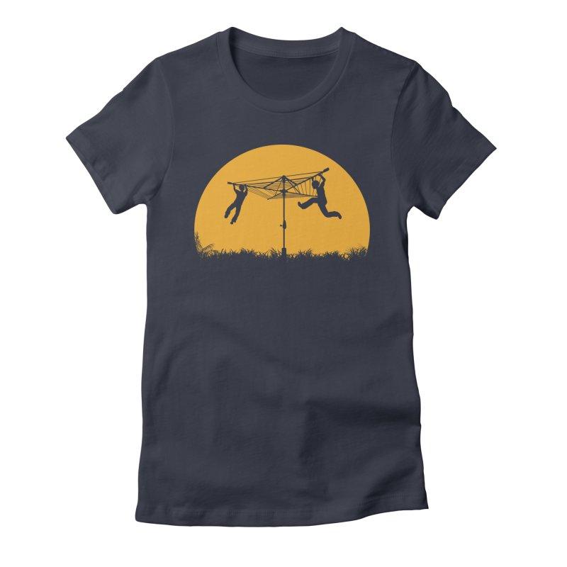 Merry Go Sunset Women's Fitted T-Shirt by zomboy's Artist Shop