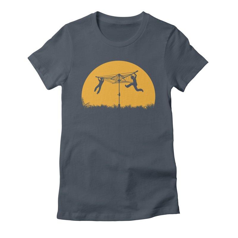 Merry Go Sunset Women's T-Shirt by zomboy's Artist Shop