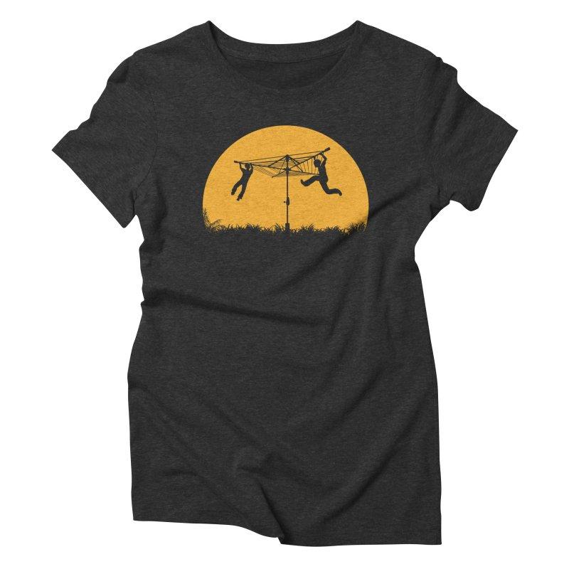 Merry Go Sunset Women's Triblend T-Shirt by zomboy's Artist Shop