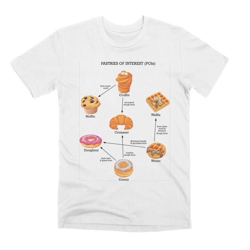 Pastries of Interest (POIs) Men's Premium T-Shirt by zomboy's Artist Shop