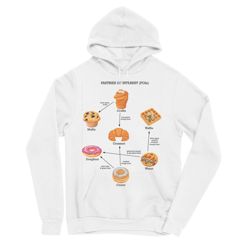 Pastries of Interest (POIs) Women's Sponge Fleece Pullover Hoody by zomboy's Artist Shop