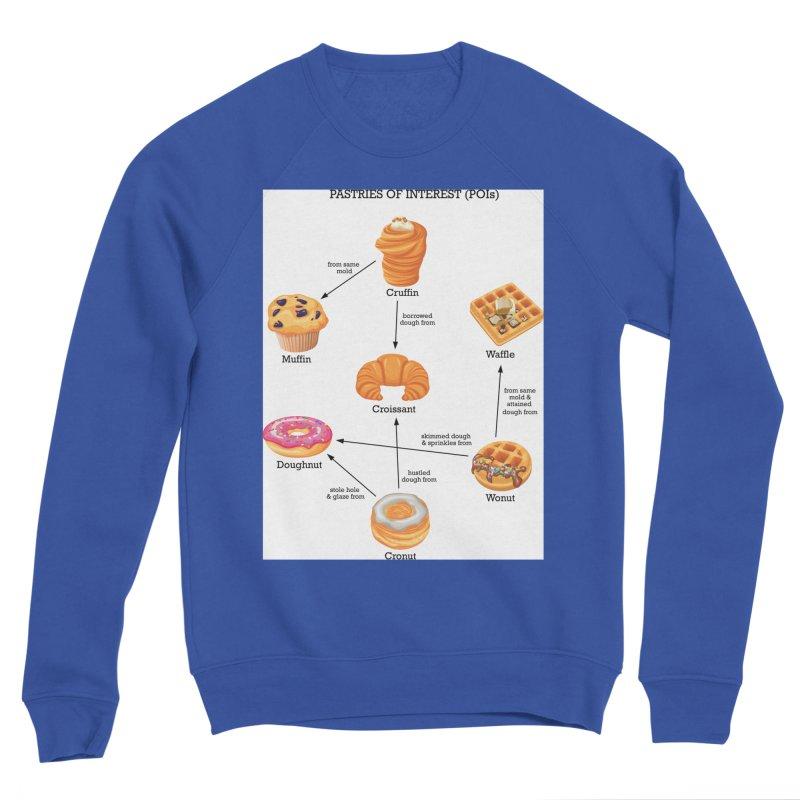 Pastries of Interest (POIs) Women's Sponge Fleece Sweatshirt by zomboy's Artist Shop