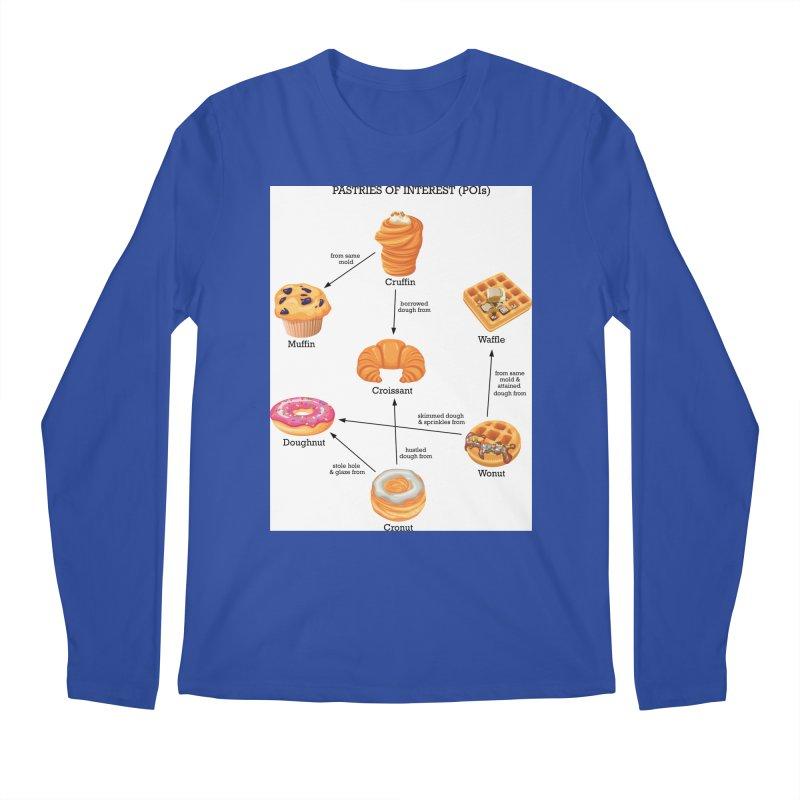 Pastries of Interest (POIs) Men's Regular Longsleeve T-Shirt by zomboy's Artist Shop