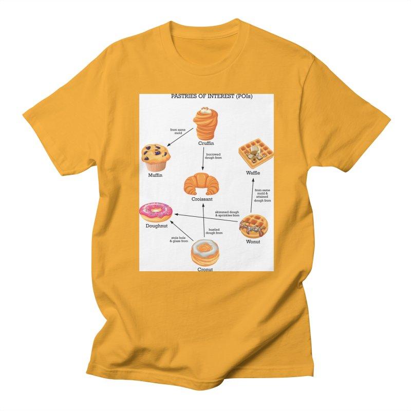 Pastries of Interest (POIs) Women's Regular Unisex T-Shirt by zomboy's Artist Shop
