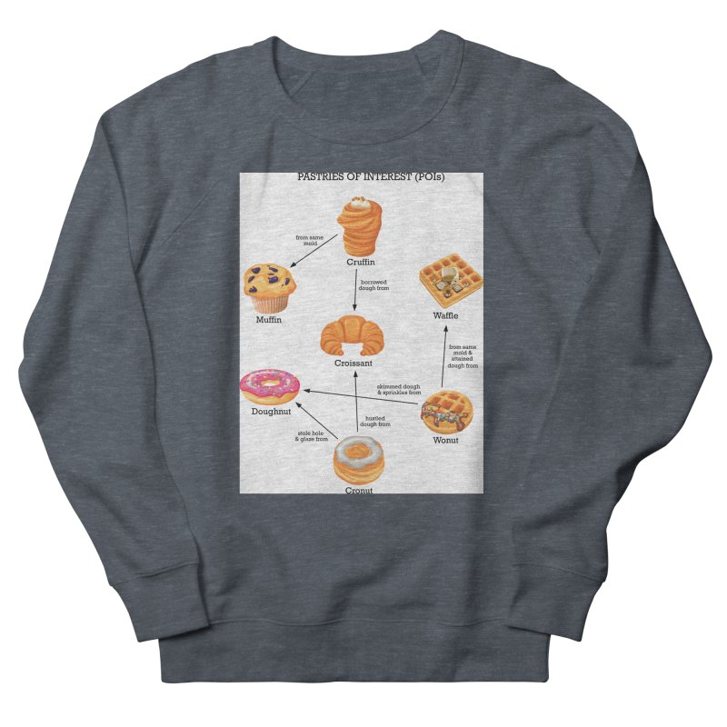 Pastries of Interest (POIs) Men's French Terry Sweatshirt by zomboy's Artist Shop