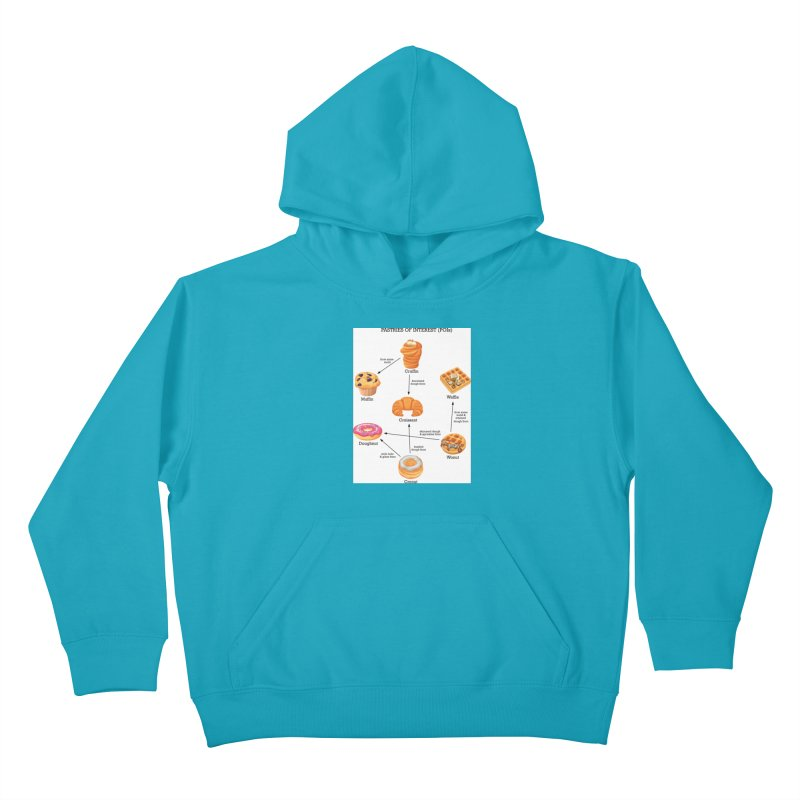 Pastries of Interest (POIs) Kids Pullover Hoody by zomboy's Artist Shop