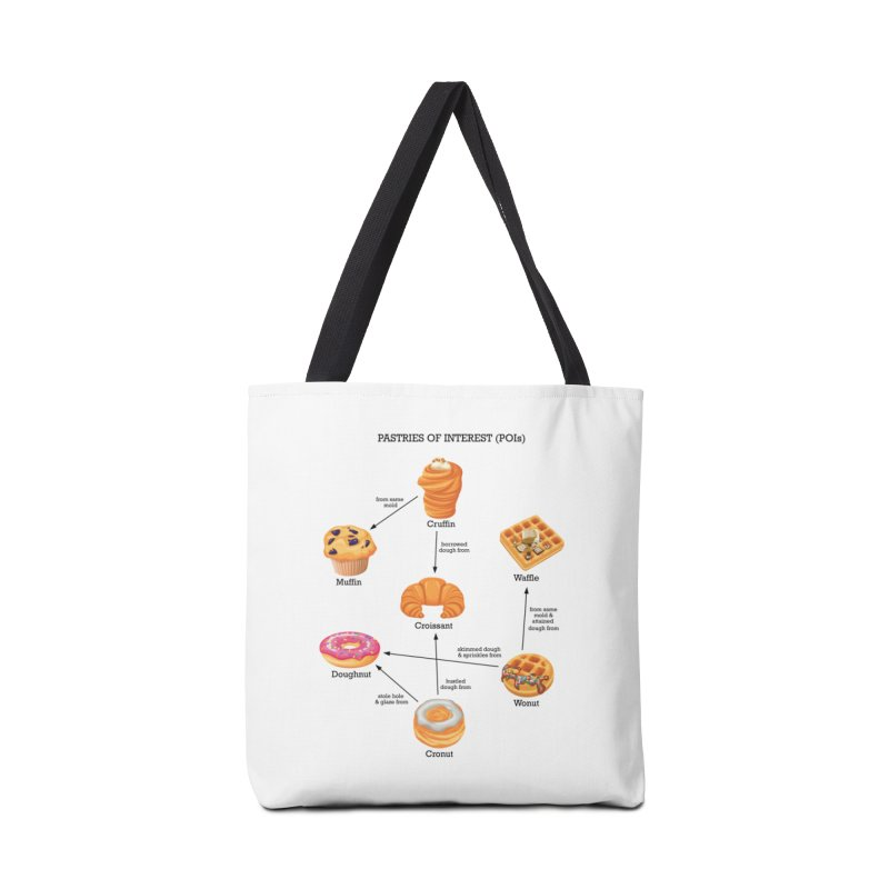 Pastries of Interest (POIs) Accessories Tote Bag Bag by zomboy's Artist Shop