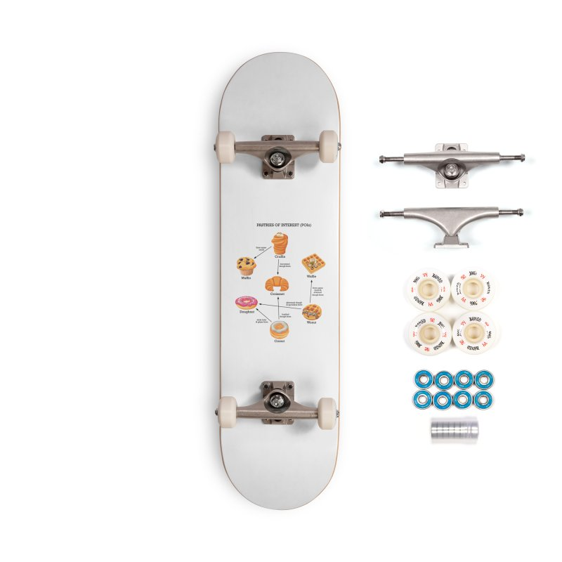 Pastries of Interest (POIs) Accessories Complete - Premium Skateboard by zomboy's Artist Shop