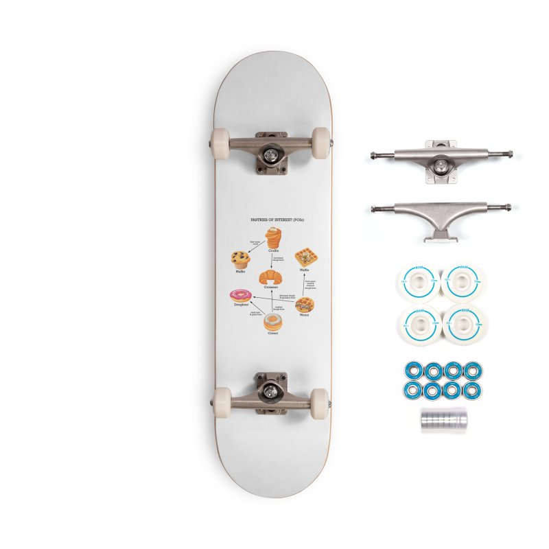 Pastries of Interest (POIs) Accessories Complete - Basic Skateboard by zomboy's Artist Shop