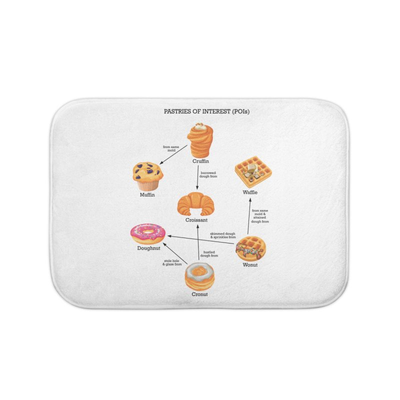 Pastries of Interest (POIs) Home Bath Mat by zomboy's Artist Shop