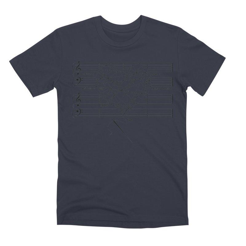 Cross My Heart and Hope... Men's Premium T-Shirt by zomboy's Artist Shop