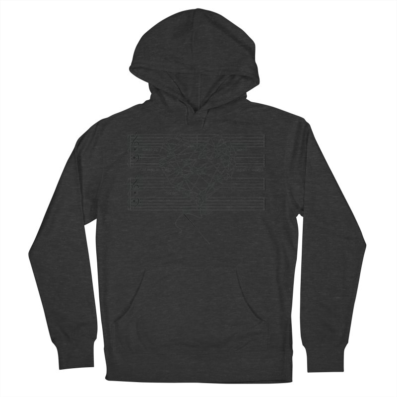 Cross My Heart and Hope... Women's French Terry Pullover Hoody by zomboy's Artist Shop