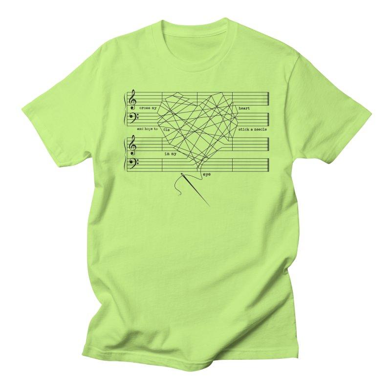 Cross My Heart and Hope... Women's Regular Unisex T-Shirt by zomboy's Artist Shop