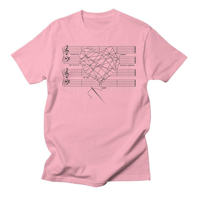 Cross My Heart and Hope... Men's Regular T-Shirt by zomboy's Artist Shop