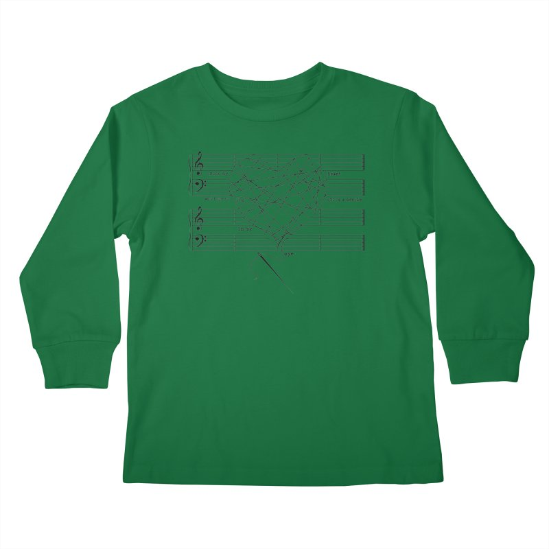 Cross My Heart and Hope... Kids Longsleeve T-Shirt by zomboy's Artist Shop