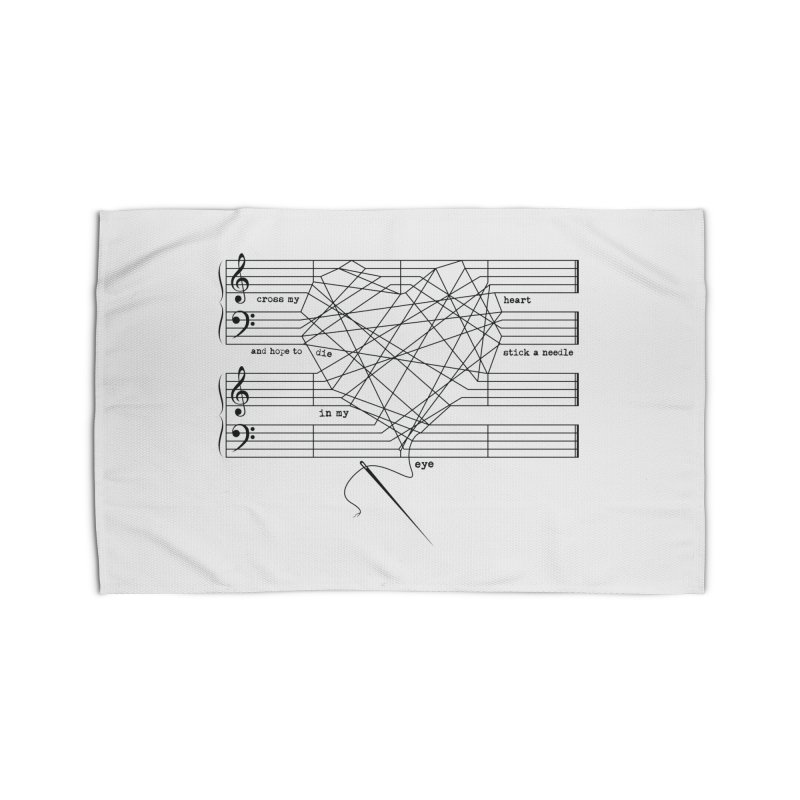 Cross My Heart and Hope... Home Rug by zomboy's Artist Shop
