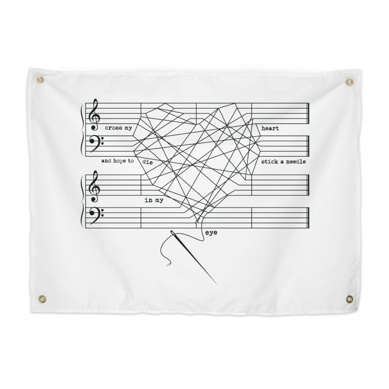 Cross My Heart and Hope... Home Tapestry by zomboy's Artist Shop