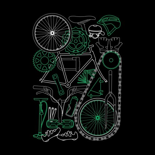 Design for Keep Riding For Green