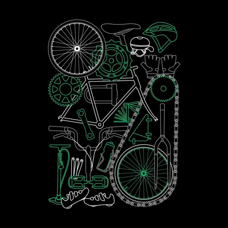 Keep Riding For Green Men's T-Shirt by Zomboy Arts