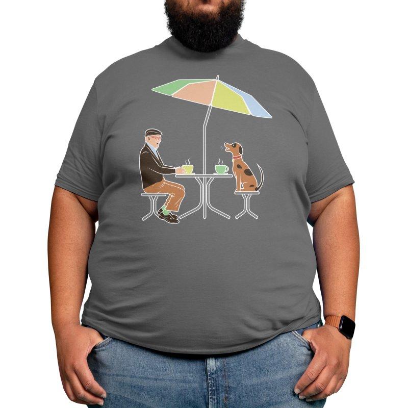 Good Coffee Companion Men's T-Shirt by Zomboy Arts