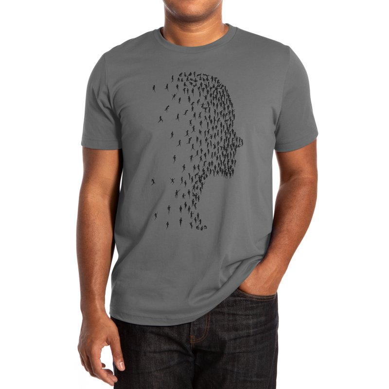 Occupy Collective Conscience Men's T-Shirt by Zomboy Arts