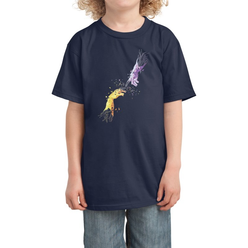 Virtually Untouchable Kids T-Shirt by Zomboy Arts