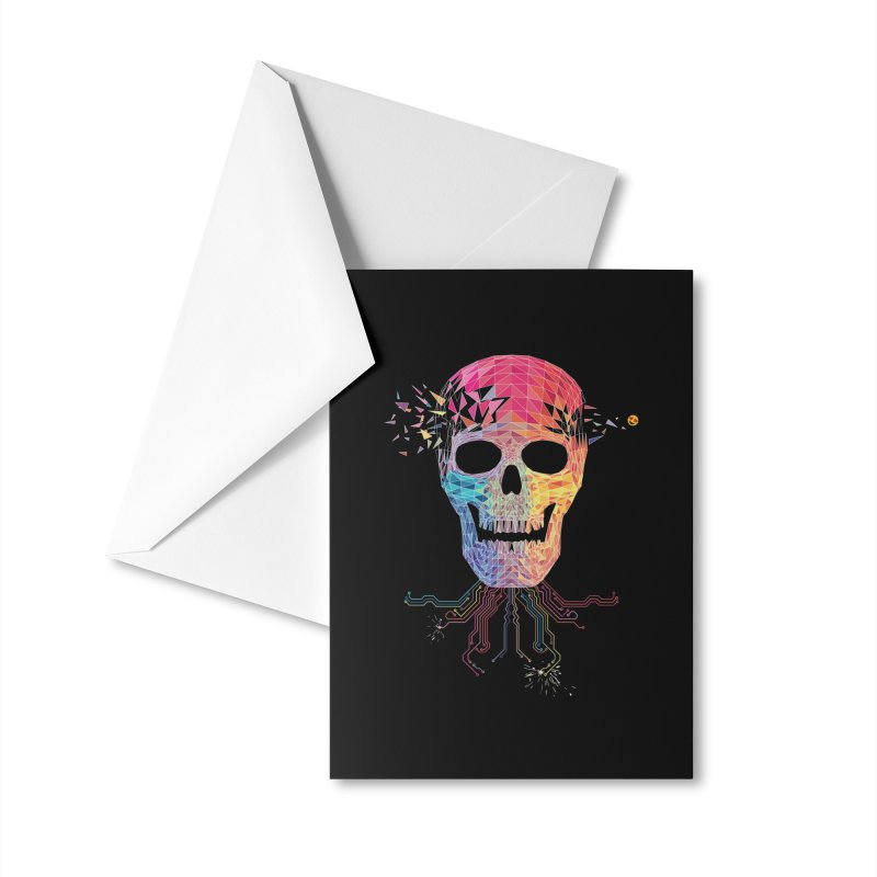 Virtually Incoherent Accessories Greeting Card by Zomboy Arts