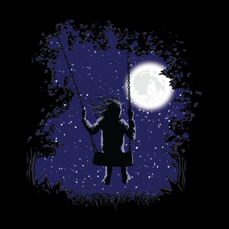 Night Swing Tranquility Men's T-Shirt by Zomboy Arts