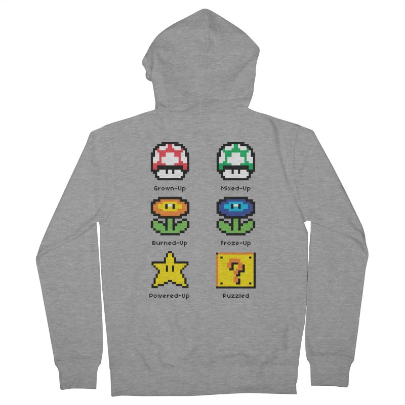 8-Bit Feelings Women's Zip-Up Hoody by zone31designs's Artist Shop