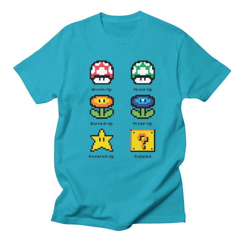 8-Bit Feelings Men's T-shirt by zone31designs's Artist Shop