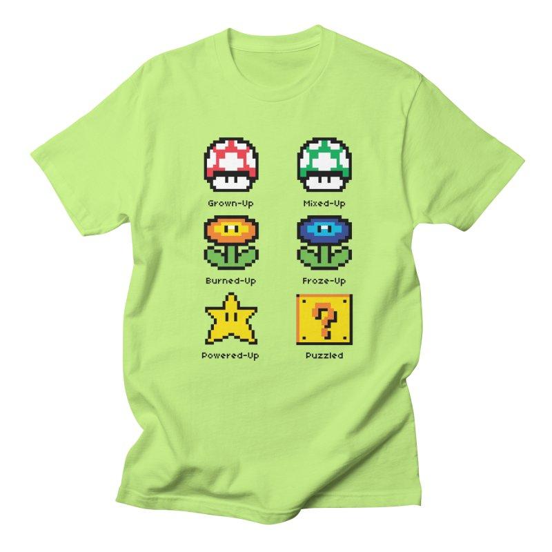 8-Bit Feelings Men's T-shirt by zone31designs's Artist Shop