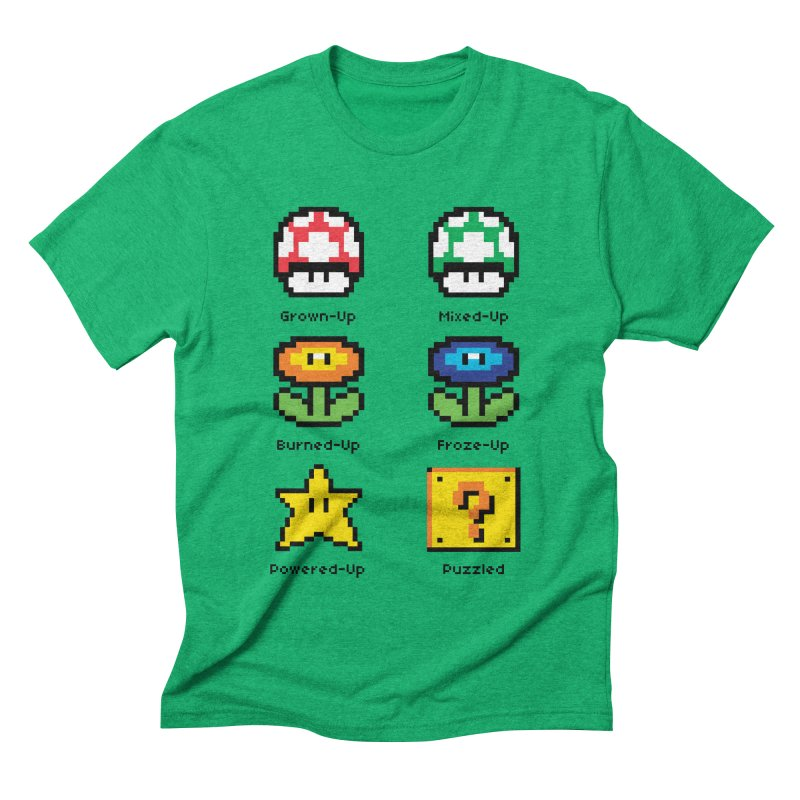 8-Bit Feelings Men's Triblend T-shirt by zone31designs's Artist Shop
