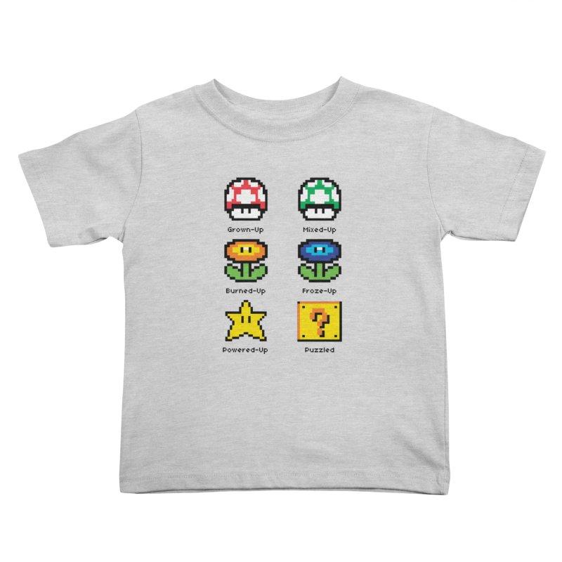 8-Bit Feelings Kids Toddler T-Shirt by zone31designs's Artist Shop